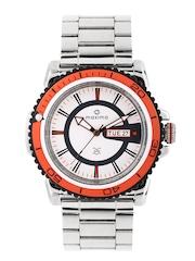 Maxima Men White Dial Watch 29991CPGI