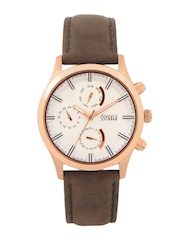 Maxima Ssteele Women White Dial Watch
