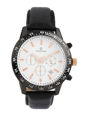 Maxima Men White Dial Watch 22940PPDN