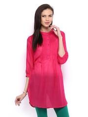 Melange by Lifestyle Women Pink Kurta