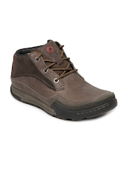 Merrell Men Brown Mountain Kicks Leather Casual Shoes
