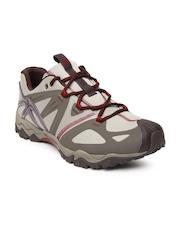 Merrell Men Grey & Brown Grassbow Sports Shoes