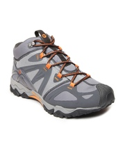Merrell Men Grey GrassBow Mid Sports Shoes