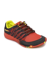 Merrell Men Orange & Grey Allout Fuse Sports Shoes