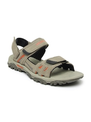 Merrell Men Mushroom Brown Moab Drift Strap Sports Sandals