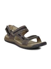 Merrell Men Brown Traveller Tilt Convertible Sports Sandals