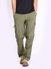 Merrell Men Khaki Convertible Cargo Trousers