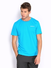 Merrell Men Blue T-shirt