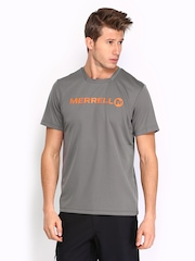 Merrell Men Grey T-shirt