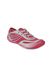 Merrell Women Bubble Gum Pace Glove Barefoot Off-Road Running Shoes
