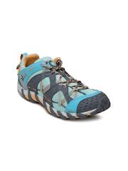 Merrell Women Grey & Green Waterpro Maipo Sports Shoes