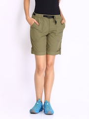 Merrell Women Green Shorts