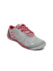 Merrell Women Grey Pace Glove 2 Running Shoes
