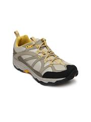 Merrell Women Beige & Mushroom Brown Calia Trekking Shoes