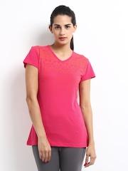Merrell Women Pink Printed Kazbaar T-shirt