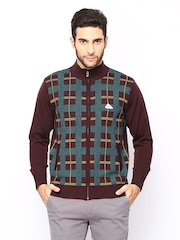 Monte Carlo Men Burgundy Sweater