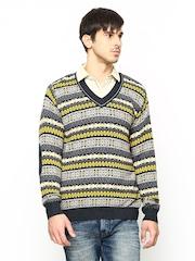 Monte Carlo Men Multicoloured Sweater