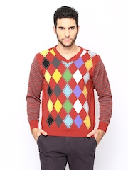 Monte Carlo Men Red Sweater