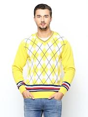 Monte Carlo Men Yellow Sweater