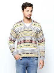 Monte Carlo Men Multicoloured Wool Blend Sweater
