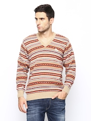 Monte Carlo Men Multicoloured Lambswool Blend Sweater