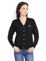Monte Carlo Women Black Wool Sweater