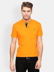 Monteil & Munero Men Orange T-shirt