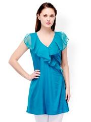 Motif Women Blue Tunic