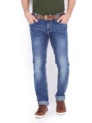 Mufti Men Blue Narrow Fit jeans