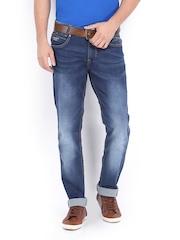 Mufti Men Blue Super Slim Fit Jeans