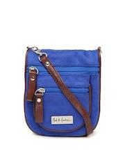 Mast & Harbour Blue Sling Bag
