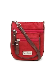 Mast & Harbour Red Sling Bag