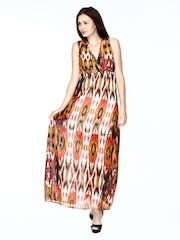 Vero Moda Multicoloured Printed Maxi Dress