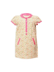 My Lil Berry Girls Multicoloured Floral Print Dress