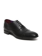 Knotty Derby Men Black Formal Shoes