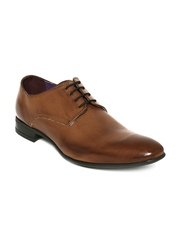 Knotty Derby Men Tan Brown Formal Shoes