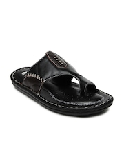 Comfit Men Black Sandals Bata