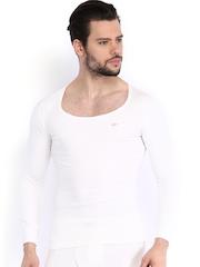 NEVA Men Off-White Thermal T-shirt