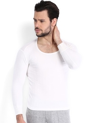 NEVA Men White Thermal T-shirt OMS1
