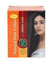 Natures Essence Women Henna Care Brown Hair Colour