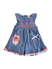 Nauti Nati Girls Blue Dress