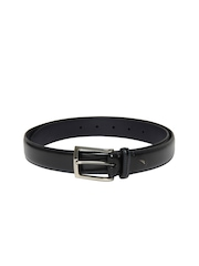 Nautica Men Black Leather Belt