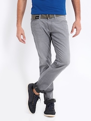 Nautica Men Grey Tapered Fit Jeans