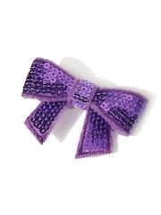 NeedyBee Girls Purple Alligator Hair Clip