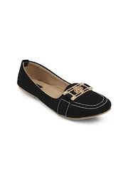 Nell Women Black Flat Shoes