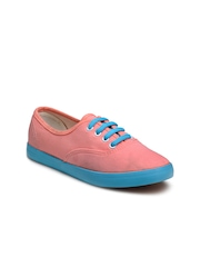 Nell Women Pink & Blue Casual Shoes