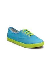 Nell Women Blue & Green Casual Shoes
