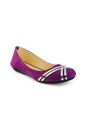 Nell Women Purple Ballerinas