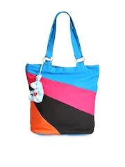 Nell Blue Tote Bag