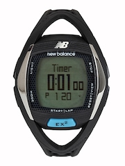 New Balance Men Black Digital Watch